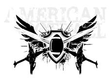 American football wings 2 Stock Photography