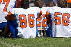 American Football - Youth Royalty Free Stock Photos