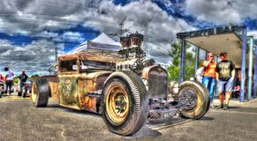 American Ford rat rod Royalty Free Stock Photography