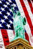 American freedom abstract Royalty Free Stock Photo