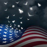 American Freedom Concept Stock Photography