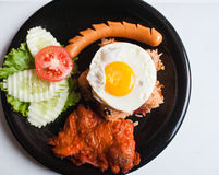 American fried rice Stock Photography