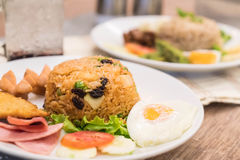 American fried rice Stock Images