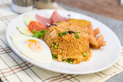 American fried rice Royalty Free Stock Images