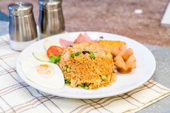 American fried rice Stock Image