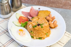 American fried rice Stock Photo