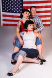 american friends rockabilly στοκ φωτογραφίες με δικαίωμα ελεύθερης χρήσης