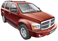 American full-size SUV Royalty Free Stock Image