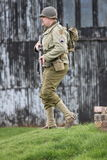 American G.I. American Army WW2 G.I. soldier at re-enactment day Stock Photography