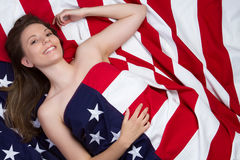 American Girl Royalty Free Stock Photography