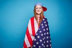 American girl Royalty Free Stock Photo