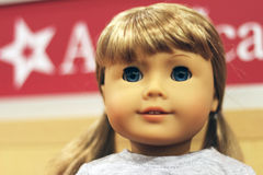 American Girl Doll Stock Image