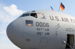 American  globemaster  on berlin air show Stock Images