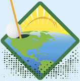 American golf Royalty Free Stock Photography