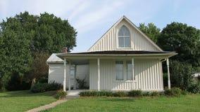 American Gothic House, Farmhouse Landmark stock video footage