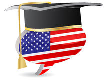 American graduation Royalty Free Stock Image