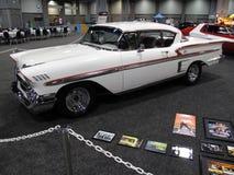 American Graffiti White Coupe Stock Photos