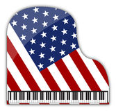 American Grand Piano Stock Photography