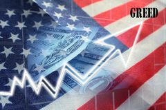 American Greed For More Profits High Quality. American Greed For More Profits stock photography