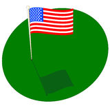American Green Royalty Free Stock Images