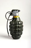 American grenade. An American pineapple grenade. Small but deadly fragmentation explosive Stock Photography