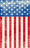 American grunge flag Royalty Free Stock Image