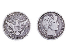 American half dollar Stock Photos