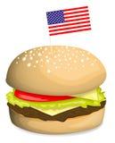 American hamburger Royalty Free Stock Photography
