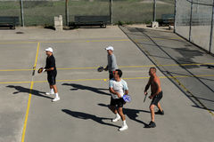 American Handball Royalty Free Stock Photo