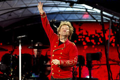 American Hard Rock Band Bon Jovi Stock Images