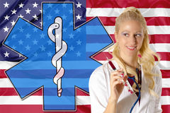 American health care Royalty Free Stock Photography