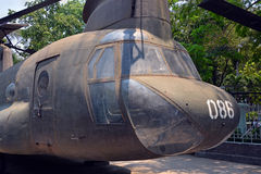 American Helicopter on display at War Remnants Museum. Royalty Free Stock Image