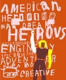 American Hero Royalty Free Stock Photo