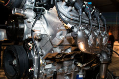 American high performance automobile engine Stock Photo