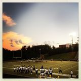 American high school football game Royalty Free Stock Photography