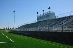 American High School Football Stadium Stock Photos