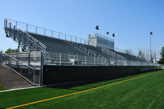 American High School Football Stadium Royalty Free Stock Photography