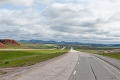 American highway Royalty Free Stock Image