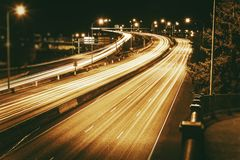 American Highways System Royalty Free Stock Images