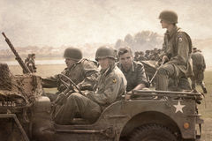 American historical Jeeps Royalty Free Stock Image
