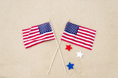 American holidays background Royalty Free Stock Photography