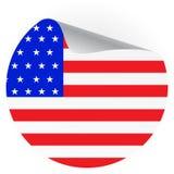 American holidays sticker Stock Image
