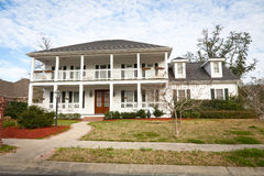 American Home: Southern-Style Mansion Stock Photos