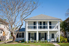 American Home: Southern-Style Mansion Stock Photo