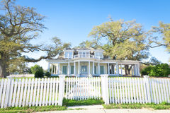 American Home: Southern-Style Mansion Royalty Free Stock Photos
