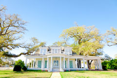 American Home: Southern-Style Mansion Royalty Free Stock Image