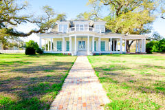 American Home: Southern-Style Mansion Stock Images