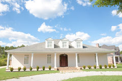 American Home: Southern-Style Upscale Home Royalty Free Stock Photo