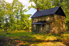 American Homestead. Nice Image of a vintage homestead in the mountains royalty free stock images