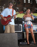 American Honey - Panama City Beach. American Honey opening performance at the Spinnaker's Resturant free concert titled Summer Fun to support people and Stock Photography